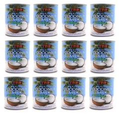 CASE 12 X 400ml Coconut Milk by Trs | Buy Online at The Asian Cookshop