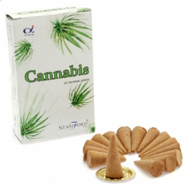 Cannabis Incense Cones | Buy Online at the Asian Cookshop